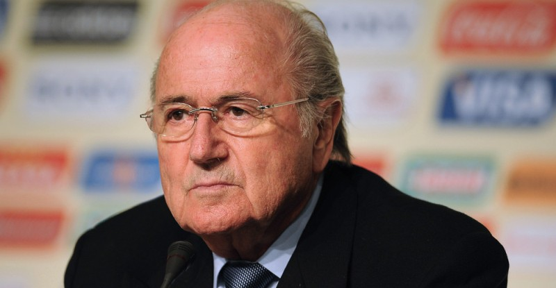 FIFA President Joseph Blatter attends a press conference in Sao Paulo, Brazil, on November 30, 2012. The Official Draw for the FIFA Confederations Cup Brazil 2013 will be held on December 1 in Sao Paulo. AFP PHOTO/Nelson ALMEIDA        (Photo credit should read NELSON ALMEIDA/AFP/Getty Images)