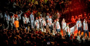 20140914 ? BELGIUM, BRUSSELS: the opening ceremony of the Special Olympics. / STAGE/ PHOTO GILLES CRAMPES / SPECIAL OLYMPICS